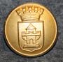 Nyköpings kommun. Ruotsalainen kunta, 24mm, kullattu