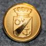 Oxelösunds kommun. Swedish municipality, 13mm, gilt
