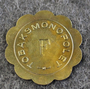Tobaksmonopolet, Swedish government tobacco monopoly. F, brass