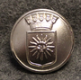 Solna kommun. Swedish municipality, 24mm, nickel