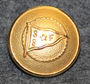 Segelsällskapet Fram, ruotsalainen pursiseura, 22mm, kullattu