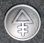 AB Förenade superfosfatfabriker, Lannoitetehdas, 22mm, harmaa