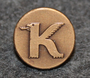 Koppartrans Olje AB, oil company, and gas station chain. 12mm, bronze LAST IN STOCK