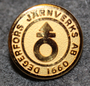 Degerfors Järnverks AB 1660. 14mm kullattu