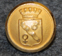 Avesta kommun. Swedish municipality, 14mm, gilt