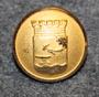 Eskilstuna stad. Ruotsalainen kunta, 14mm, kullattu