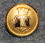 Falkenbergs stad. Swedish municipality, 13mm, gilt
