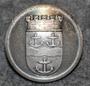 Gävle kommun. Ruotsalainen kunta, 23mm, harmaa