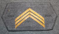 M/65 cuff insignia, Finnish army, Sergeant