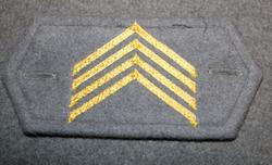 M/65 cuff insignia, Finnish army, 1st sergeant