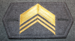 M/65 cuff insignia, Finnish army, Sergeant major