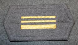 M/65 cuff insignia, Finnish army, 1st Lieutenant