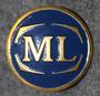 Malmö Lokaltrafik, Bussiyhtiö, 25,5mm, sininen, kokardi