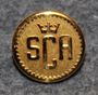 Svenska Cellulosa Aktiebolaget, SCA, Paperi & Sellu yhtiö. 14mm, kullattu