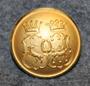 Gävleborgs län, Ruotsin lääni. 22mm, kullattu <1938