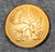 Stockholms län, Ruotsin lääni. 23mm, kullattu < 1947. v3