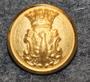 Värmlands län, Ruotsin lääni. 14mm, vanha malli, kullattu