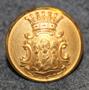 Västmanlands län, Ruotsin lääni. 22mm, vanha malli, kullattu, kokardi