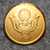 USA vaakuna. 14mm kullattu