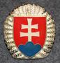 Slovakian Armeija, kokardi.