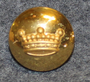 Friherrlig krona, Crown of a Baron swedish court livery, 16mm. Lens  gilt LAST IN STOCK