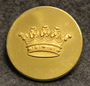 Grevlig krona, Crown of a Count, swedish court livery, 30mm. gilt
