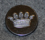 Grevlig krona, Crown of a Count, swedish court livery, 26mm, black