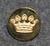Kreivin kruunu, Ruotsi, 16mm, kullattu