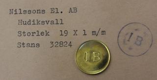 Nilssons El. AB, Hudiksvall. IB