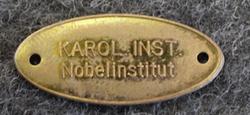 Karol. Inst. Nobelinstitut, 27mm