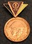 DDR, Reservistenabzeichen der Nationalen Volksarmee, Itä-Saksalainen kansanarmeijan mitali