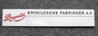 Brynildsens Fabrikker A.S, Karamelli ja suklaatehdas