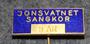 Jonsvatnet Sangkor 5 År, Kuoron 5v jäsenmerkki.