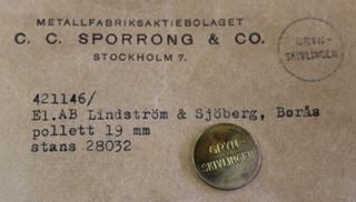 Elektriska AB Lindström & Sjöberg, Borås, Gryn-Skivlingen