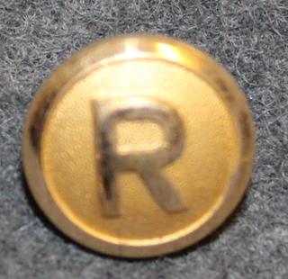 Rottneros AB, metsäteollisuusyhtiö, 14mm, kullattu