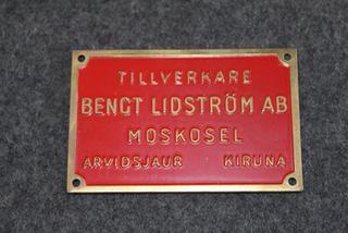 Bengt Lindström AB, Moskosel, Arvidsjaur Kiruna.