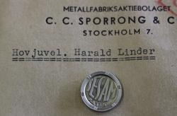 Hovjuvel. Harald Linder