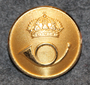 Ruotsin posti, 23mm kullattu