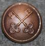 Portvakt, doorkeeper / janitor. 23mm copper