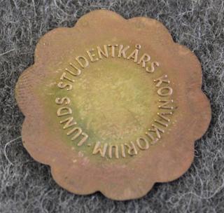 Lunds Studentkårs Konviktorium, 25mm