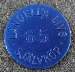 Ländells Livs, Självköp, Uppsala. 65