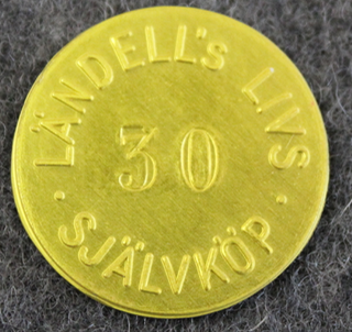 Ländells Livs, Självköp, Uppsala. 30