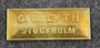 G.W. Lyth, Stockholm.