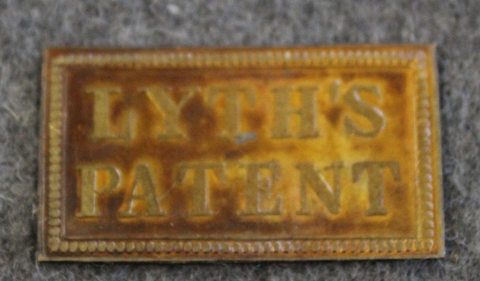 G.W. Lyth, Stockholm. Lyths patent