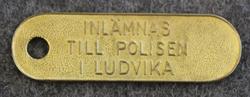 Inlämnas till Polisen i Ludvika