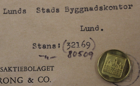 Lunds Stads Byggnadskontor 17mm