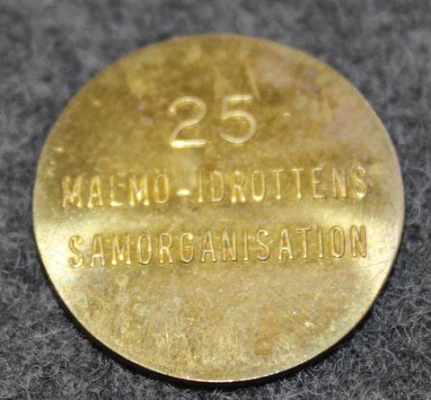 Malmö-Idrottens Samorganisation 25.