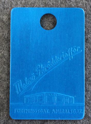 Malmö Skrädderiaffär, sininen