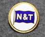 Nordström & Thulin AB, shipping company cap badge.