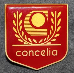 Concelia Bevakning Aktiebolag, Security company badge.